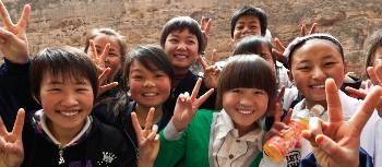 Local kids in Western China | Peter Walton